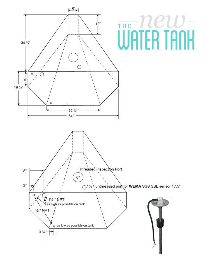 water tank plan