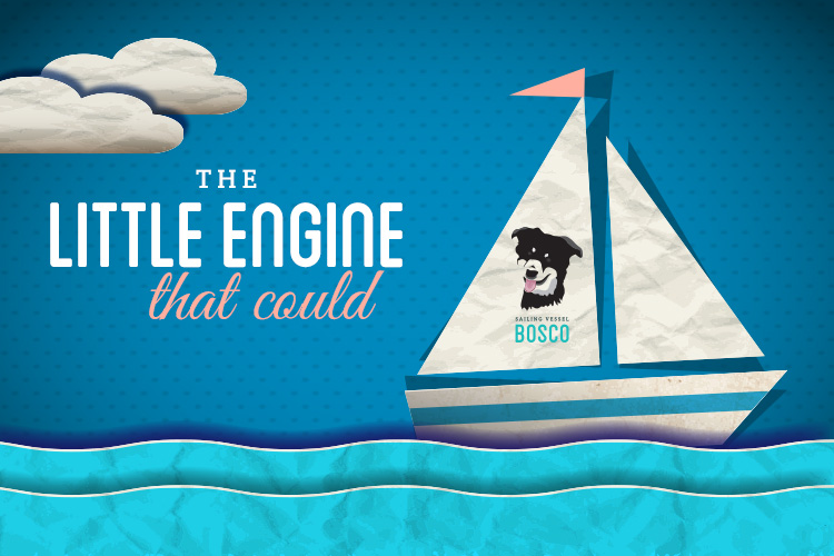 The little engine that could s/v Bosco